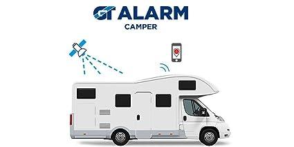 Gt Alarm Camper Antifurto Satellitare Per Camper Con App Centrale Operativa 24 7 Per Camper E Caravan E Roulotte