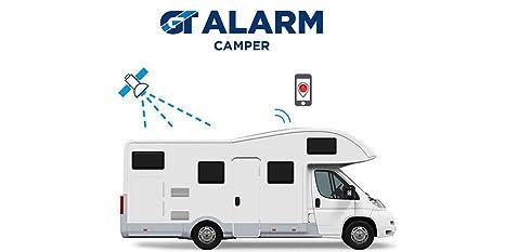Gt Alarm Camper Antifurto Satellitare Per Camper Con App Amazon It