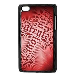 Custom Cross Back Cover Case for ipod Touch 4JNIPOD4-105