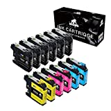 12-Pack IKONG Compatible for Brother LC203 LC203XL Works with Brother MFC-J480DW,J680DW,J485DW,J885DW,J460DW,J880DW,MFC-J4420DW,J4620DW,MFC-J4320DW,MFC-J5620DW,MFC-J5520DW,MFC-J5720DW