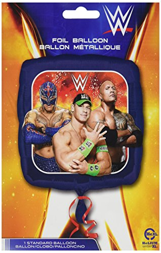 Anagram International HX WWE Group Packaged Party Balloons, Multicolor
