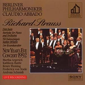 Richard Strauss ~ New Year's Eve Concert Berlin 1992 / Argerich, Fleming, Battle, Abbado