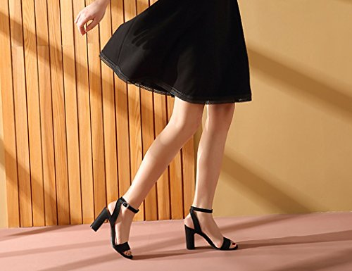 De ZCJB De De Palabra Banda Tac Mujer Zapatos Verano Rayas De Salvajes De Sandalias Zapatos 5qaqwA