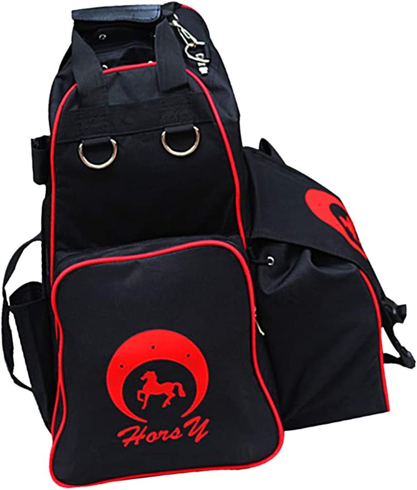 DYNWAVE Equestrian Sport Equipment Tote Bag Large Horse Riding Boots Helmet and Accessories Storage Backpack