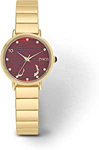 Zyros Dress Watch for Women, Analog - ZY1133L010127