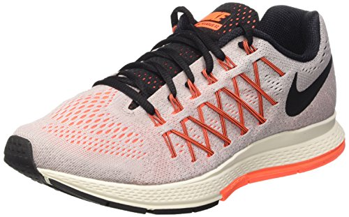 NIKE Women's Air Zoom Pegasus 32 Running Shoe Violet Ash/Orange/Black Size 6.5 M US