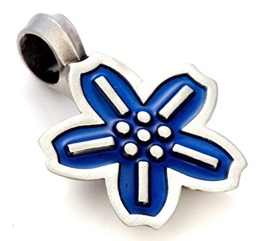 Bico Cyber Hasu Pendant (B233 Blue) - digital metamorphosis - Icon Jewelry from Bico