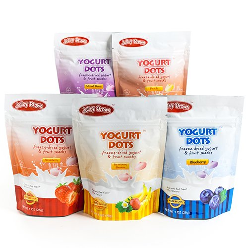 Yogurt Dots Freeze-Dried Yogurt Snacks (1 ounce) - Mixed Berry (1 ounce)