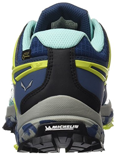 Blue 38 Scarpe 8670 Basse Gore Ultra Tex Dark SALEWA Aruba Denim da Arrampicata Donna Train Blu EU qZO4pA