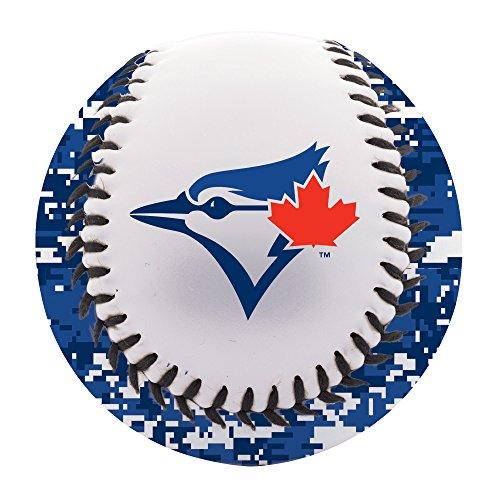 Blue Toronto Pearl (Franklin Sports MLB Toronto Blue Jays Digi Camo Soft Strike Baseball)