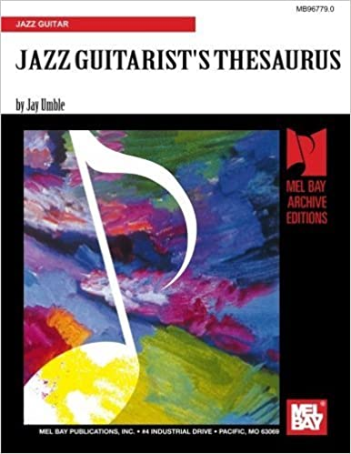 Book JAZZ GUITARIST'S THESAURUS by Mr. Jay Umble (1998-01-01)