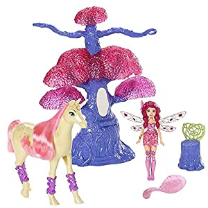 Mia and me  Mini Playset  Magic Tree Doll Mia and Unicorn