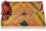 Natori Women's Woven Clutch, multi O/S