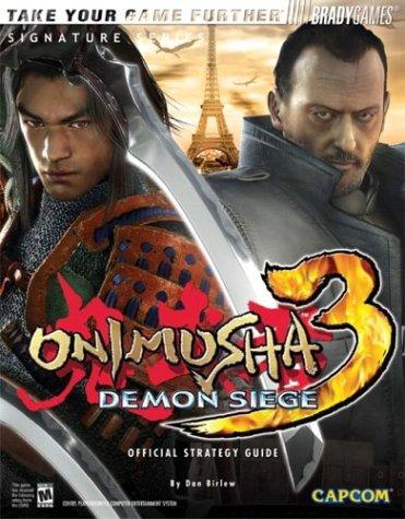 Download Onimusha(tm) 3: Demon Siege Official Strategy Guide (Brady Games) pdf epub