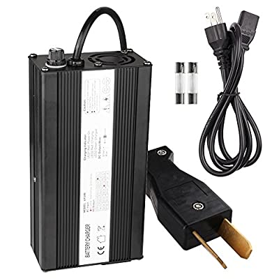 Ezgo Charger, Enk 36 Volt 5 Amps Golf Cart Charger with CrowFoot Connector, 36v Battery Charger for Ez Go Club Car EZgo, Trickle Charger