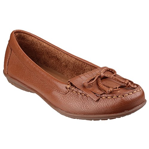 Hush Puppies Donna / Donna Ceil Mocc Kilty Slip On Mocassini Tan