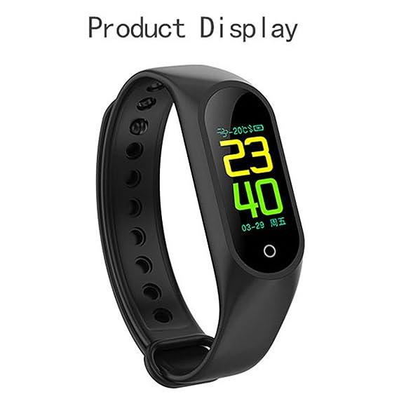 Amazon com: Bond M3 Color Screen Smart Bracelet Heart Rate Monitor