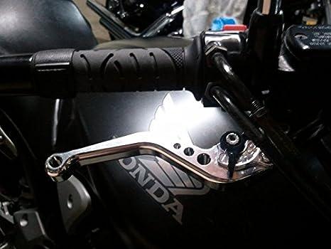 Short Motorcycle Brake and Clutch Levers for KTM 690 Enduro R 2014 2015 2016 2017 2018,KTM 1090 Adventure//R 2017 2018,KTM Adventure 1050 2016,KTM 690 DUKE 690 SMC SMCR 2014-2017-Orange POWTEC