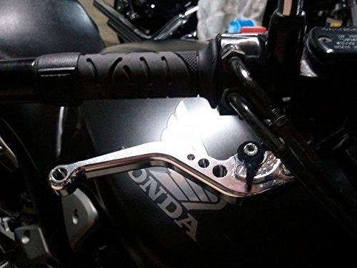 RIDEIT Short Motorcycle Adjustable CNC Brake and Clutch Levers for HONDA CBR500R//CB500F//X 2013-2018,CBR250R 2011-2013,CB300R 2019,CBR300R 2014-2017,CB300F//FA 2014-2017,CB400F//CB400R 13-17,GROM 14-18