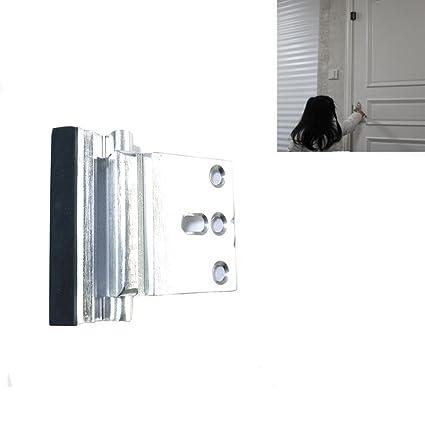 z & C refuerzo con cerradura para puerta, puerta de aleación de aluminio puerta de