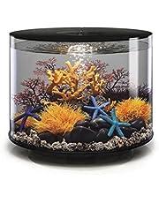 biOrb Tube 35 Aquarium with LED - 9.2 Gallon, Black