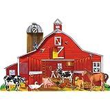 Melissa & Doug  Farm Friends Jumbo Jigsaw Floor Puzzle (32 pcs, 2 x 3 feet)