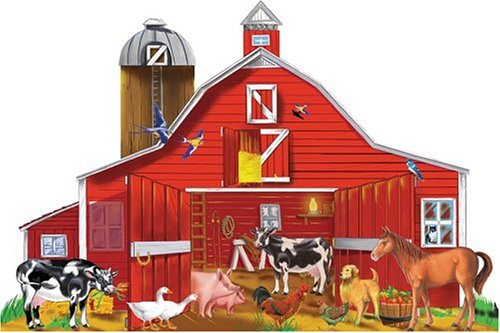 Amazon Melissa Doug Farm Friends 32 Pc Floor Puzzle Toys Games