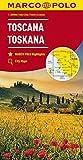 MARCO POLO Karte Italien Blatt 7 Toskana 1:200 000: Wegenkaart 1:200 000 (MARCO POLO Karten 1:200.000)