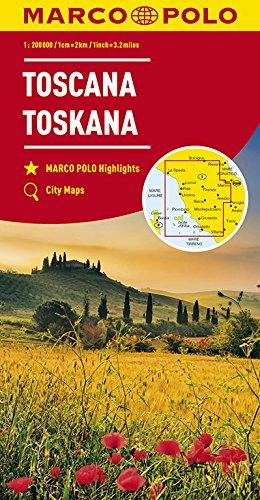 MARCO POLO Karte Italien Blatt 7 Toskana 1:200 000 (MARCO POLO Karten 1:200.000)