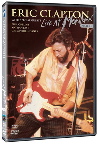 DVD : Eric Clapton - Live at Montreux 1986
