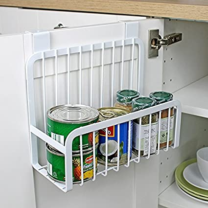 Amazon Mkono Over The Cabinet Door Organizer Kitchen Basket