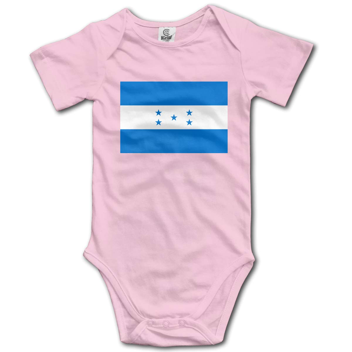 CUTEDWARF Baby Short-Sleeve Onesies Honduras Flag Bodysuit Baby Outfits
