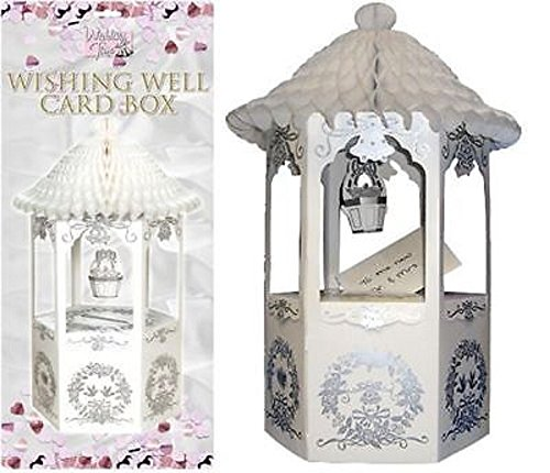 (Wedding Party Cards Post Mail Receiving Box Wishing Well - An Ideal Accessory For Wedding Receptions, Christenings And Any Type Of)