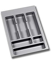 EMUCA - Cubertero Recortable para cajón, Bandeja para Cubiertos cajón Ancho módulo 40cm