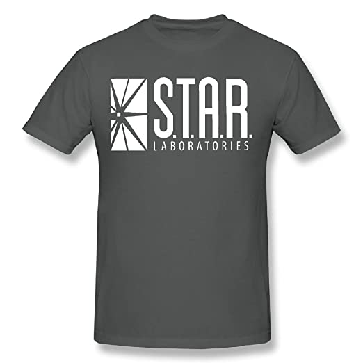 102499404948 Amazon.com  Star Laboratories S.T.A.R. Labs Adult T- Shirt  Clothing