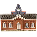 Cats Meow LITTLE RED SCHOOLHOUSE Wood Indian Hill Series CSTM7099