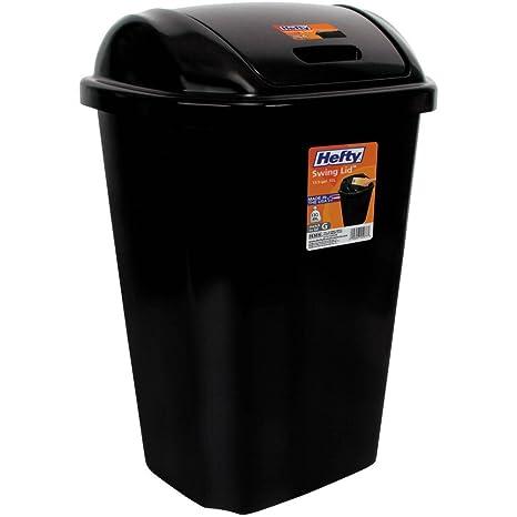 Amazon.com: Basura de Cocina puede 13,5 galón Hefty tapa ...