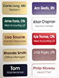 """Custom Name Badges / Name Tags - 1.5"""" x 3"""" - Up to three lines of text - Pin Backing"""