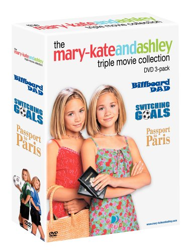 Mary-Kate & Ashley Pack (Billboard Dad/Switching Goals/Passport to Paris)