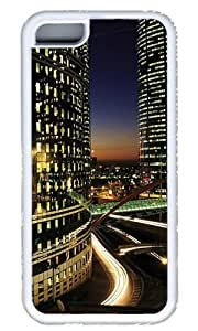 City Night Landscape Custom Case for iphone 4/4s iphone 4/4s TPU White by Cases & Mousepads