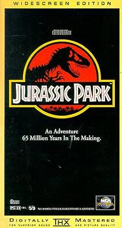 Jurassic Park [USA] [VHS]: Amazon.es: Sam Neill, Laura Dern ...