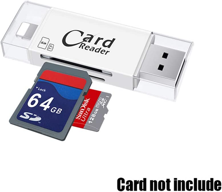 Memory Card Adapter Micro SD//TF//SD Compact Flash Card Reader for /& PC /& Laptop /& Smart Phones /& Tablets /& Cameras Card Reader USB2.0//3.0