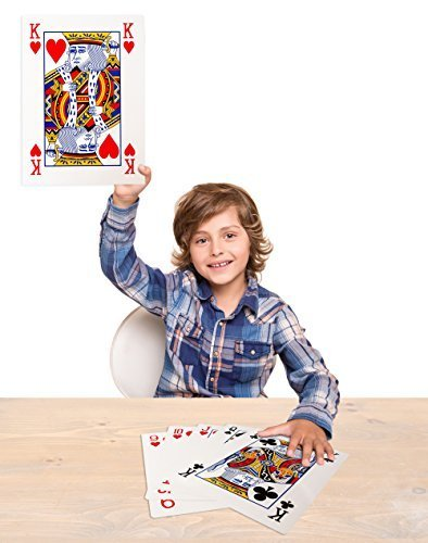 Forum Novelties Mega Jumbo Face Extra Large Playing Cards- 11