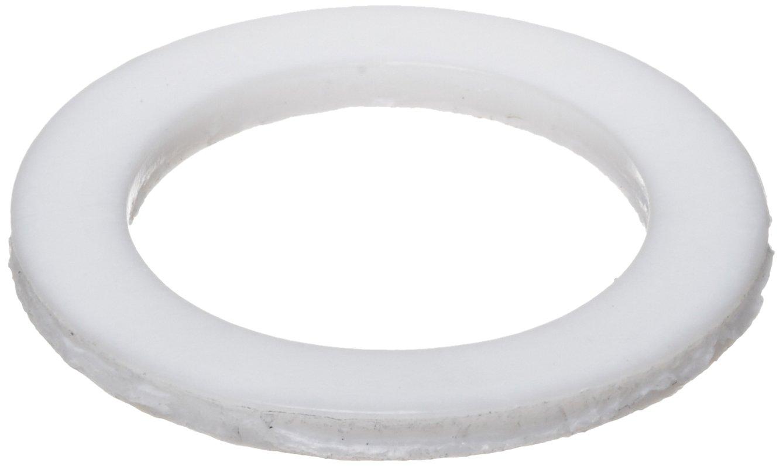 1//2 Hole Size Polytetrafluoroethylene 0.750 OD Pack of 25 Flat Washer PTFE 0.505 ID 0.031 Nominal Thickness Made in US