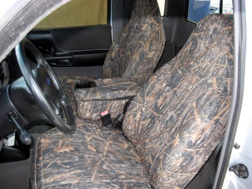 Durafit Seat Covers Made to fit 2002-2003 Ford Ranger Exact Fit Seat Covers. 60/40 Bench with Opening Console. Waterproof Endura in Conceal Camo Save Now