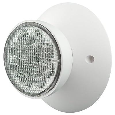 Compass CIRS Hubbell Lighting LED 2 Head Emergency Light