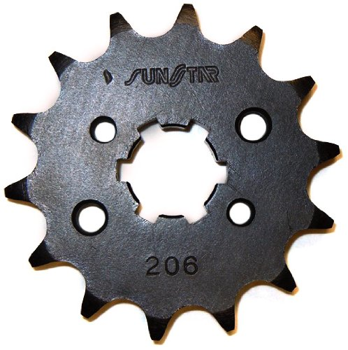 Sunstar 20614 14-Teeth 428 Chain Size Front Countershaft Sprocket
