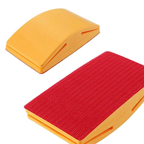 Sanding Block Hand Sanding Block Elastic And Comfortable Grip Sanding Mouse Hook Sanding Disc With A Short Nail For Firm Stick A Variety Of Styles Polishing Abrasive Pad Flocking Sandpaper Stick
