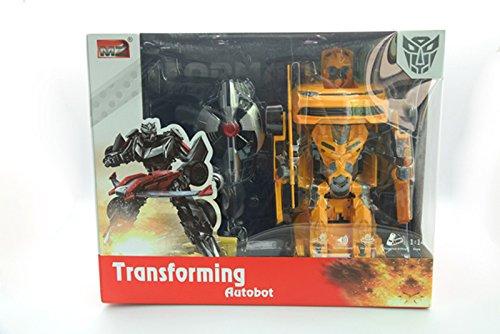 DARDO Toys Pfeil Spielzeug 2313 X – utobot Transformers Chevrolet Maßstab 1: 14 mit Batterien und Ladegerät enthalten
