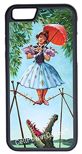 iPhone 7 Case, Deal Market LLCCasesTM Haunted Mansion Stretching [Flex Series] -iPhone 7 (4.7) Black Case [iPhone 7 (4.7) V1 Black]Ships from Florida and Guranteed delivery within 7 Business days
